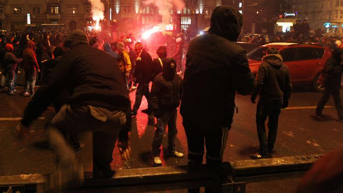 Football fans rally over supporter shooting