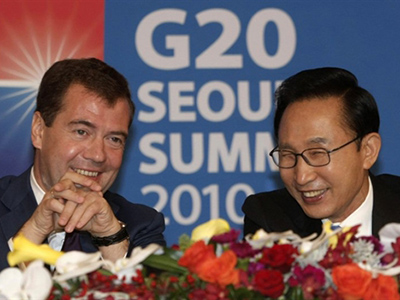 Good Korea move: Medvedev invites Seoul into modernization plan
