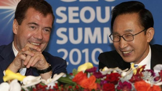 Good Korea move: Medvedev invites Seoul into modernization plan