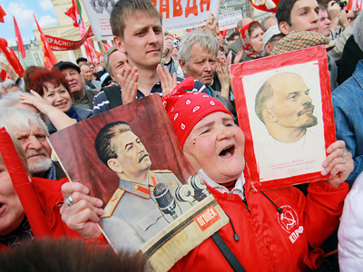 Russians' nostalgia for USSR is dwindling - poll
