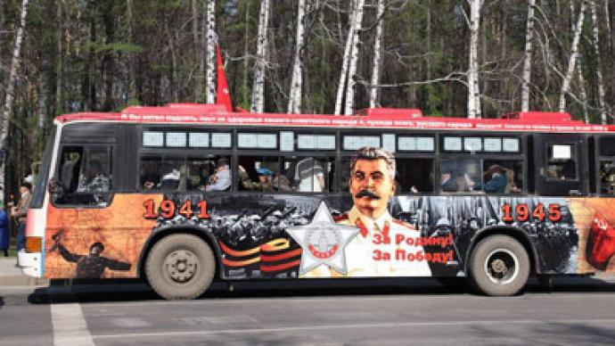 Stalin to make comeback on Victory Bus