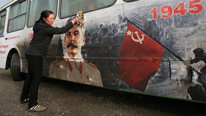 'Stalin buses' to mark 70th anniversary of Battle of Stalingrad in Russia
