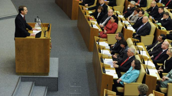 New State Duma targets changes to Constitution and TV