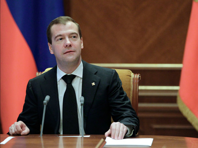 'I'm ready to die for my ideals' - Medvedev