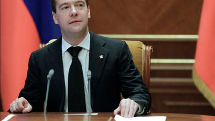 'Ello Guv'nor! Medvedev puts direct-elections bill to Duma