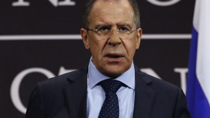 'Syria is not Libya' - Lavrov