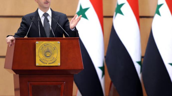 Syria's al-Assad being used in 'great geopolitical game' - Lavrov