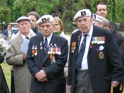 Honor denied: UK won't let WWII vets accept Russian bravery medals