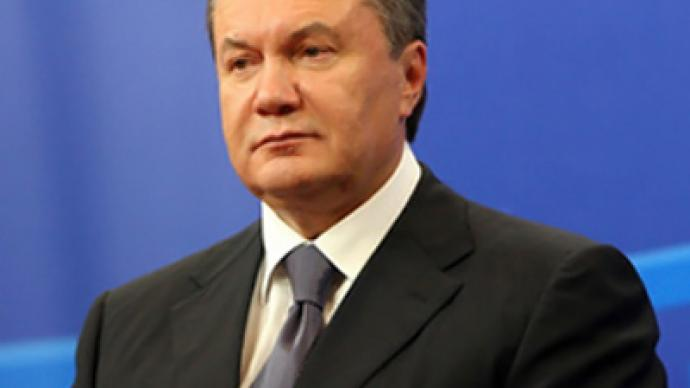 "Yanukovich pledges ""democratic constitutional transit"""