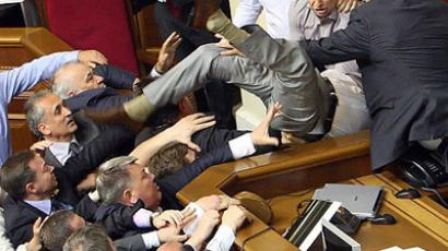 Saliv-ate: Ukrainian waitress pleads guilty to spitting in MPs' food over 4 years