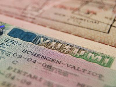 Ukrainian officials denied EU visas
