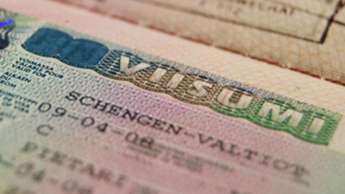 Ukrainian officials denied EU visas