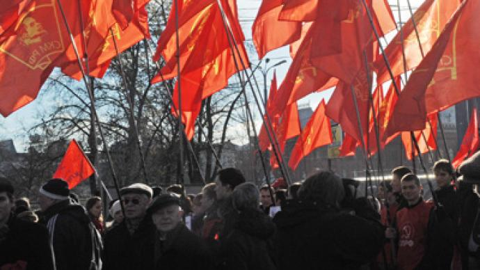 Communists won't let NATO in Lenin's birthplace
