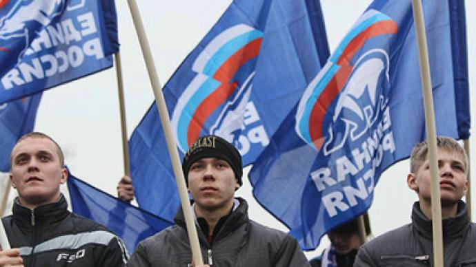 United Russia faces depressing forecast, vows to change tactics