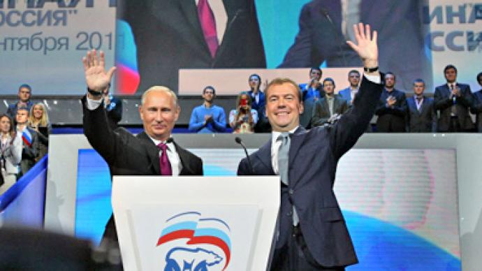 Brighter future in United Russia election promise