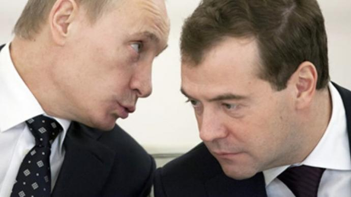 United Russia to use names of Medvedev, Putin in election campaigns