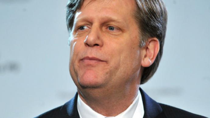 US ambassador says seeks reset, not revolution in Russia
