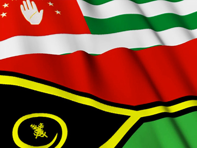 Abkhazia presents proof of independence recognition by Vanuatu