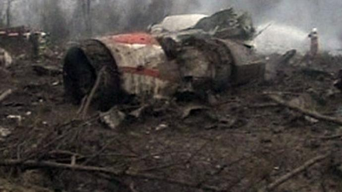 Moscow opens investigation of Polish air crash internet photos