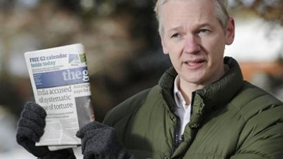 "Assange to sue Guardian for ""malicious libels"""