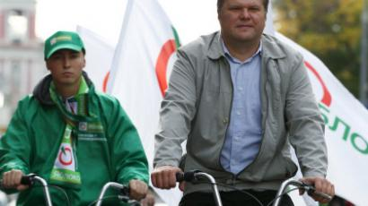 Yavlinskiy says Yabloko party only alternative to United Russia