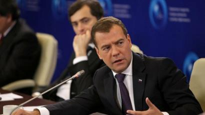 Medvedev accuses OSCE of double standards