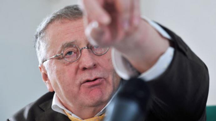 Zhirinovsky uncovers opponents' election plot