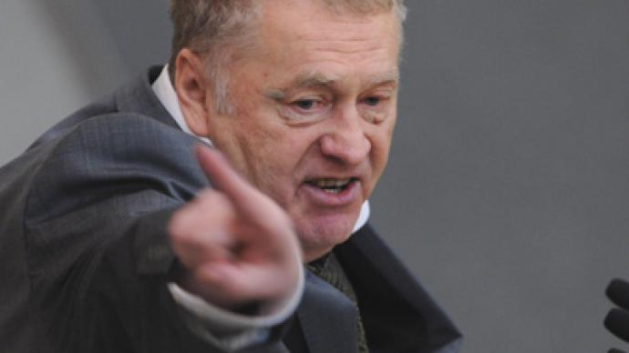 'Zhirinovsky, or it'll be worse' – flamboyant populist makes campaign pledges