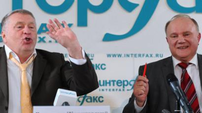 Zhirinovsky predicts war, promises prison for opponents