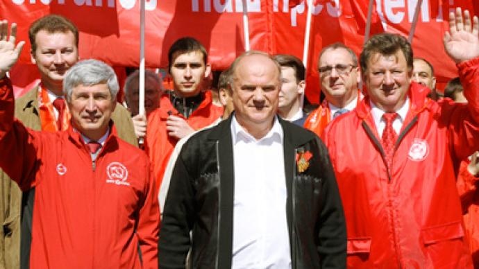 Communists form Home Guard to counter Putin's Popular Front
