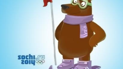 Mock mascot loses Olympic race, wins bloggers' hearts