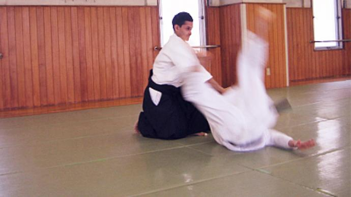 Aikido sensei gives master-class in Moscow