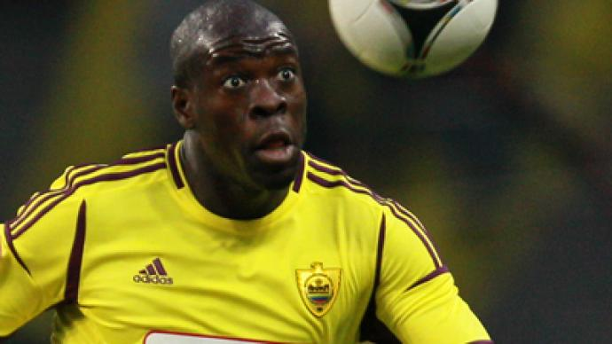 Samba happy at Anzhi despite banana incident