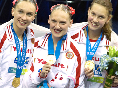 Zueva earns first Russian gold at swimming worlds