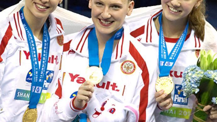 Russians continue to impress at Aquatics World Championships