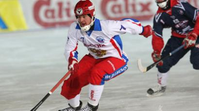 Finns stun Russia at Bandy World Champs