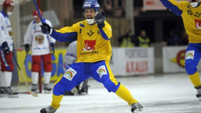 Sweden regain World bandy title