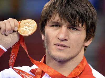 Elders sharing Dagestan's wrestling legacy