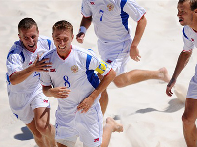 Russia reach final of Beach Soccer World Cup