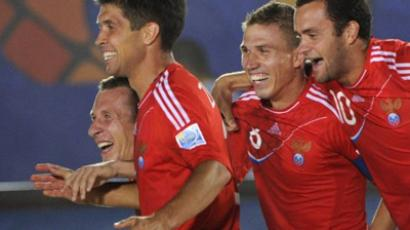 Beach Kings to make up for Russia's Euro 2012 blunder