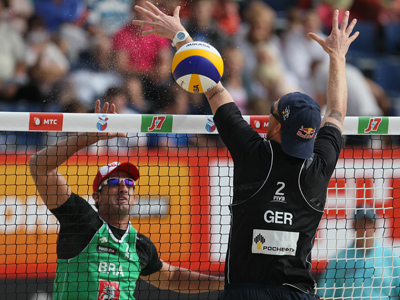 Russian men snatch spot at London 2012 beach volley competition