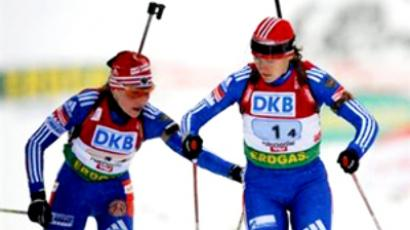 Russian keeps biathlon world cup leadership