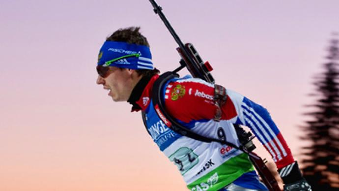 Ustyugov brings hosts Russia mass start silver at Biathlon Worlds