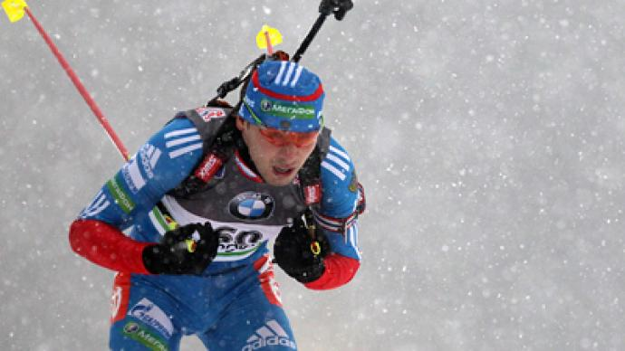 Biathlon men's pursuit gold in Nove Mesto goes to Russia