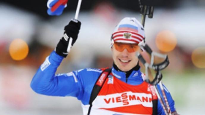 Russia triumphs in men's biathlon World Cup relay