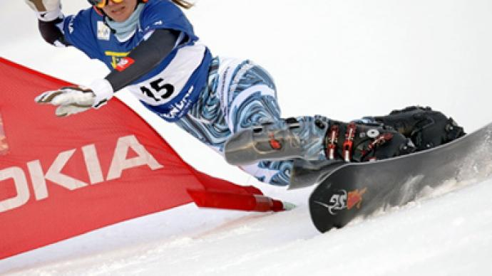 Russian snowboarders favorites at home World Cup event