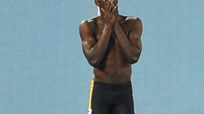 Bolt back on track in 200 meters triumph