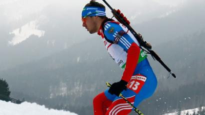 Russian biathletes claim three silvers at season finale