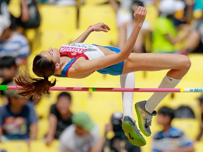 High jumper Chicherova brings seventh gold to Russia