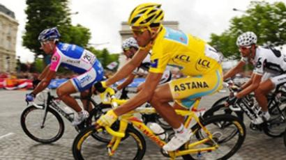 Russian cyclist fails Tour de France doping test
